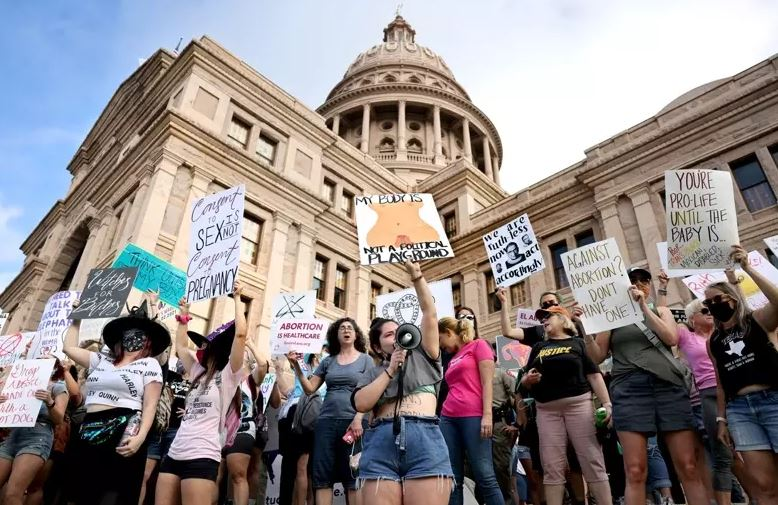 The nationwide abortion rights parade